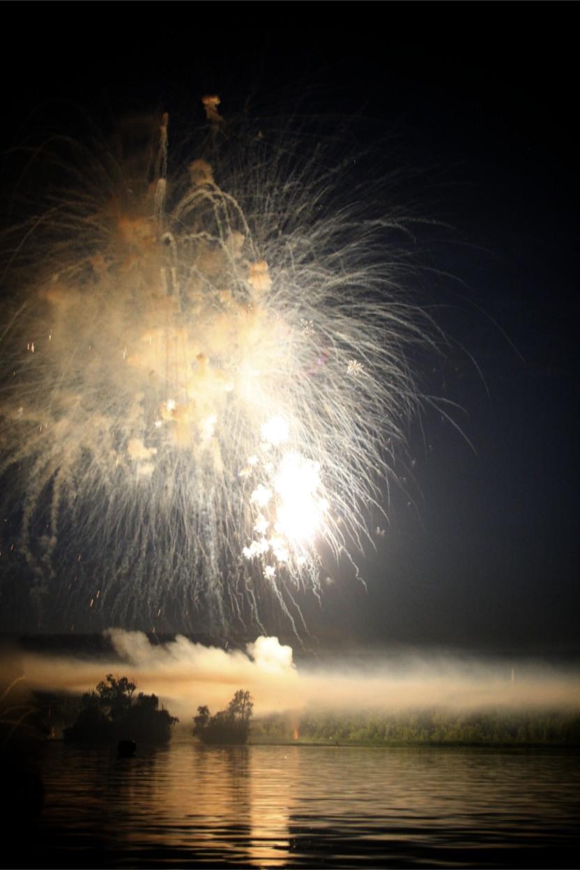 smoky fireworks