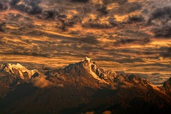 Magical Mountains - On Explore (sir_watkyn) Tags: sunset sky india snow mountains clouds canon landscape eos 350d golden interestingness dusk sharp explore rough peaks dslr himalayas sikkim edges slopes on mywinners abigfave anawesomeshot ysplix theunforgettablepictures goldstaraward thesuperbmasterpiece saariysqualitypictures sirwatkyn graphicmaster