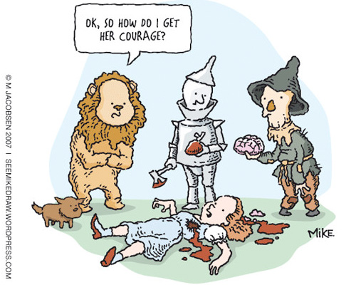 Wizard of Oz by Mike Jacobsen