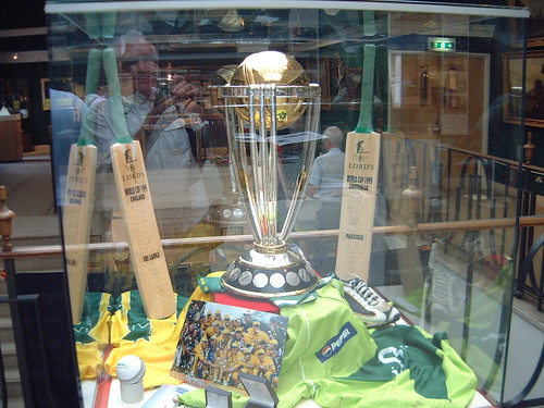 1999 Cricket World Cup in Lord's Museum 2004