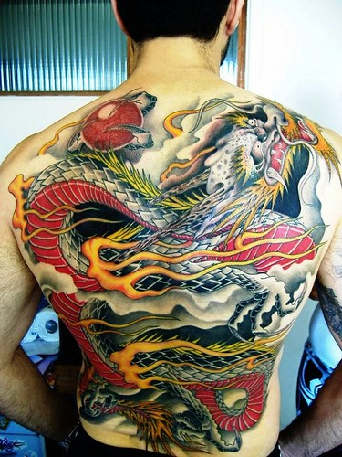 Tattoo Oriental - Dragão - by Hira Tattoo by Hira Tattoo