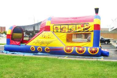 Train Moonwalk Houston Texas Rental (281) 606-JUMP(5867) - Sky HIgh Party Rentals . COM