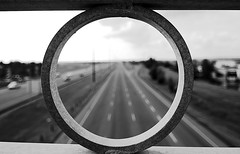 Ring (Witty nickname) Tags: road bridge blackandwhite bw rock contrast place you 1st wide wideangle ring round grayscale nikkor tokina1116mmf28 tokinaaf1116mmf28 herowinner