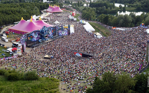 Tomorrowland Wallpaper Mainstage Aerial Overview