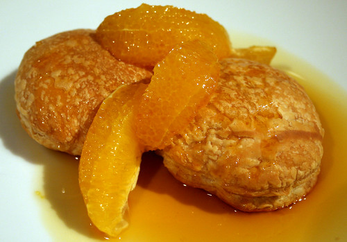 Caramel Orange Puffs