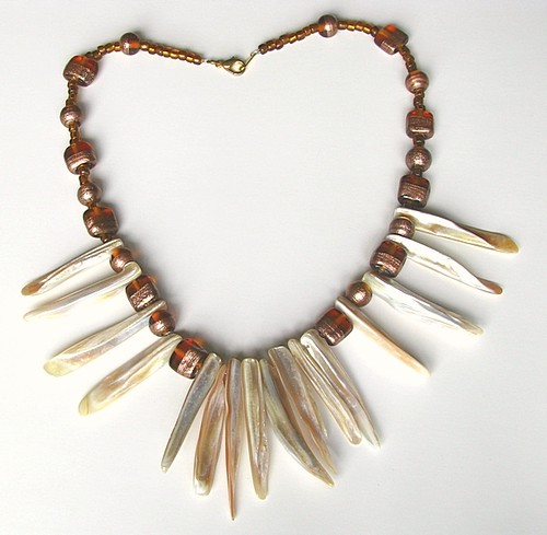 Shell Rays Necklace