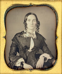 Pretty Girl with Curls (Mirror Image Gallery) Tags: daguerreotype sausagecurls bottlecurls victorianbeauty