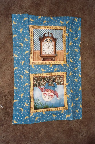 Doll Quilt - Big Sister