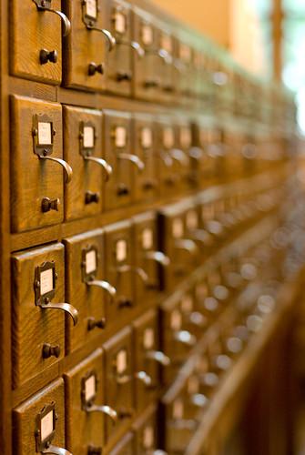 Catálogo analógico