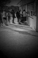 Carvel (jcblake) Tags: bw beach icecream carvel iphone