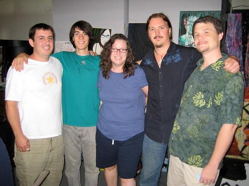 Bryan Fazio, PJ Roduta, Me, Jim Donovan & Mike Deaton