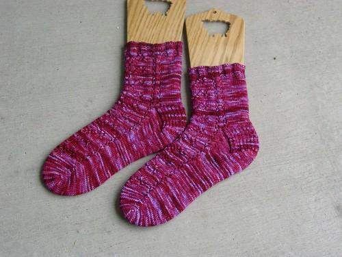 On-Hold Socks