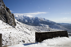IMG_8104 (Miguel Angel Mora (GSi_PoweR)) Tags: espaa snow andaluca carretera nieve nevada sunday bosque granada costadelsol domingo maroma mlaga mountainroad meteorologa axarqua puertomontaa zafarraya sierraalmijara caosalcaiceria