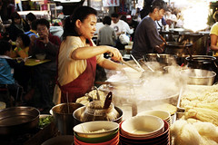 It is time for a ramen (avenue207) Tags: street food night market smoke taiwan ramen noodles taipei shilin stalls hawker