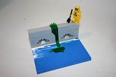 Another day on the job for Radioactive Waste Clean-Up Man (eldeeem) Tags: lego flattery vid Flickr:user=ldm