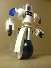 TraffiBot (ptroll) Tags: training robot traffic lego security wheeled crime segway spacepolice foitsop