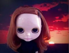 A dark sunset