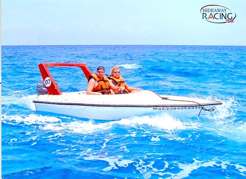 Powerboat excursion in Cozumel