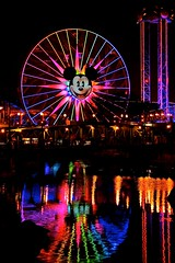 Disneyland Aug 2009 - Mickey's Fun Wheel (PeterPanFan) Tags: california ca summer vacation usa reflection water disneyland august disney orangecounty aug anaheim dca 2009 californiaadventure disneycaliforniaadventure pacificwharf goldenstate disneyscaliforniaadventure paradisepier disneylandresort mailboomer disneyvacation disneyphotochallenge disneyphotochallengewinner mickeysfunwheel jonfiedler