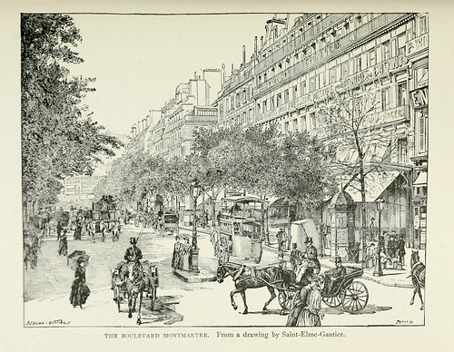 008-El Boulevard Montmartre-Paris from the earliest period to the present day 1902
