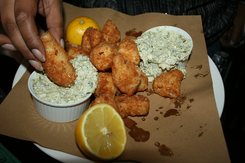 Fried Cornish Skate Cheeks (Tartare Sauce)