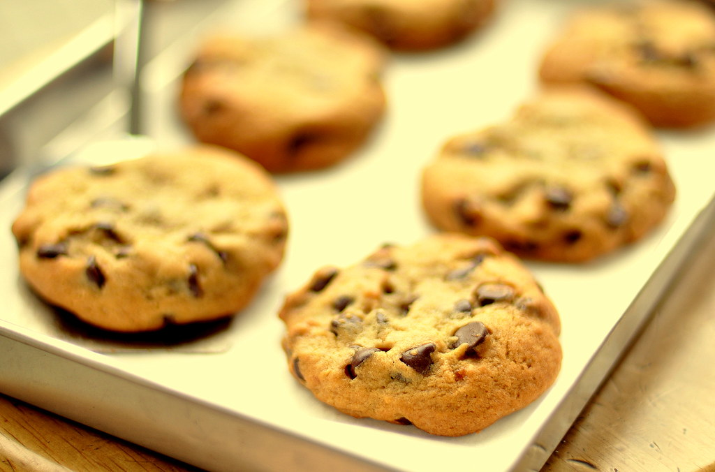 American-Style Soft Chocolate Chip Cookies