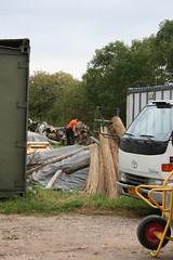 Straw and wood (Alda Kalda) Tags: climatechange ecovillage dyssekilde think2