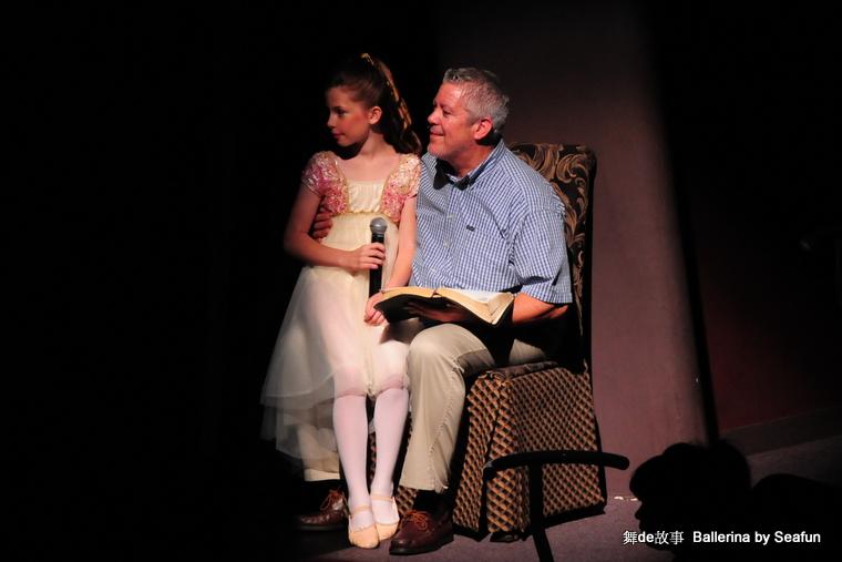 舞的故事  Ballerina (中。一场演出) - Sea Fun, 5岁  - 稀饭 喜欢 Sea Fun