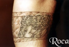 GLIFO NUMERAL MAYA,  ANTEBRAZO (roca tattoo studio) Tags: tattoo arte maya cultura tatuaje calendario azteca precolombino prehispanico