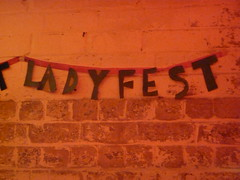 Ladyfest Banner