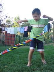 Hoop it Baby, hoop it!