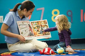 Reading - Teacher & Girl B