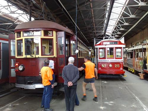 Tram museum, Bendigo