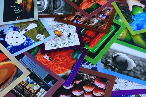 Handmade Photo Postcards