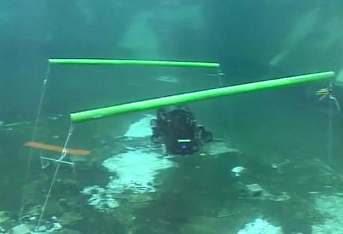 Nova a víz alatt
