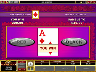 free Secret Admirer gamble bonus game
