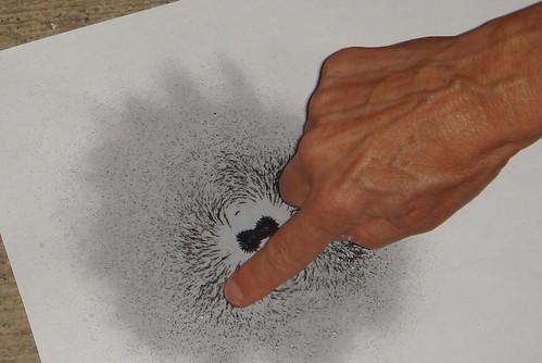 Experiencias con magnetismo y arte