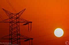 Power & Electricty (MJ ♛) Tags: sunset canon eos power 75300mm شمس majid ef orang doha qatar غروب alahmadi electricty ef75300mm 40d ماجد الاحمدي طاقة