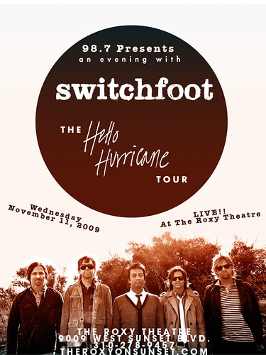 Switchfoot November 11, 2009