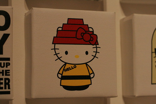 Hello Kitty Art Show - Hello Kitty Three Apples Party