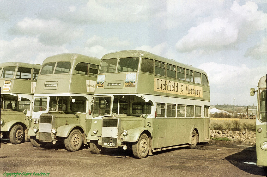 Green Bus Company of Rugeley, 1969