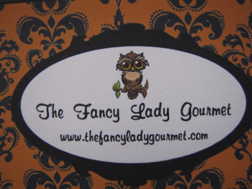 fancy lady cookies card