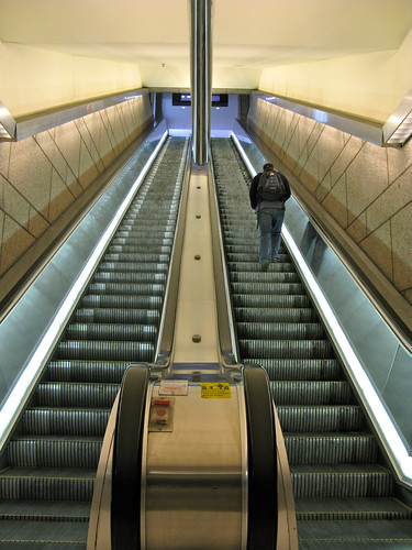 Escalators, by Oran