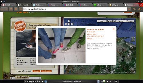 footearth.es Pisa la tierra!