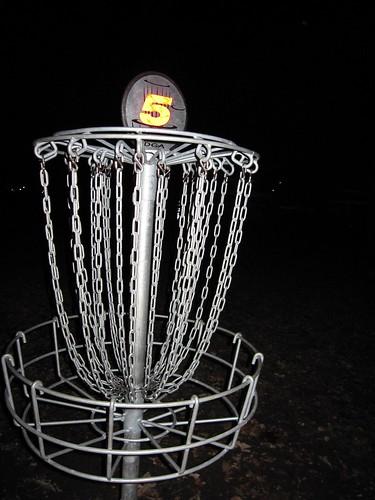 Disc Golf Hole #5 in Wabun Park
