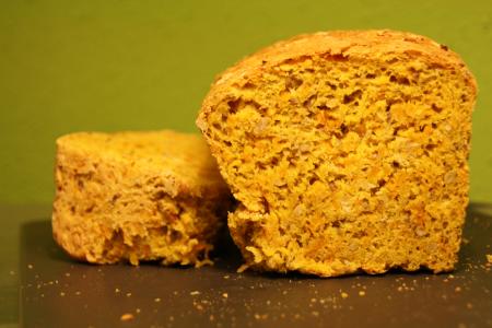 Savory pumpkinbread