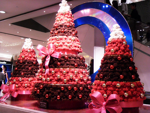 Takashimaya Beary Christmas Trees 2009
