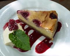 Christmas Hill Raspberry Farm Cheesecake