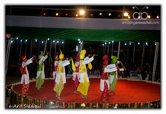 Pangsau Pass Winter Festival 2010 : Bhangra from Punjab 01 (Arif Siddiqui) Tags: life travel costumes girls portrait people woman india green heritage history tourism nature colors beauty fashion festival portraits river landscape dance glamour colorful asia paradise locals folk traditional wwii scenic festivals culture lifestyle places tribal east hills dresses tribes serene local raod tradition punjab ethnic assam northeast cultures cultural bhangra arif arunachal pristine ledo stillwell dances cemtery changlang tribals siddiqui india arunachalpradesh northeastindia jairampur peopleofindia attires itanagar arunachalpradeshindia pangsaupass nampong arunachali pangsaupasswinterfestival ppwf ppwf2010