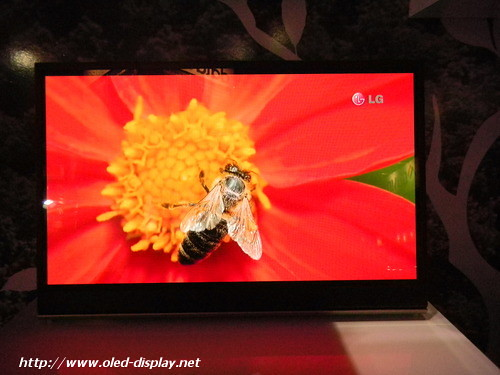 LG-Display EL9500 AMOLED-TV